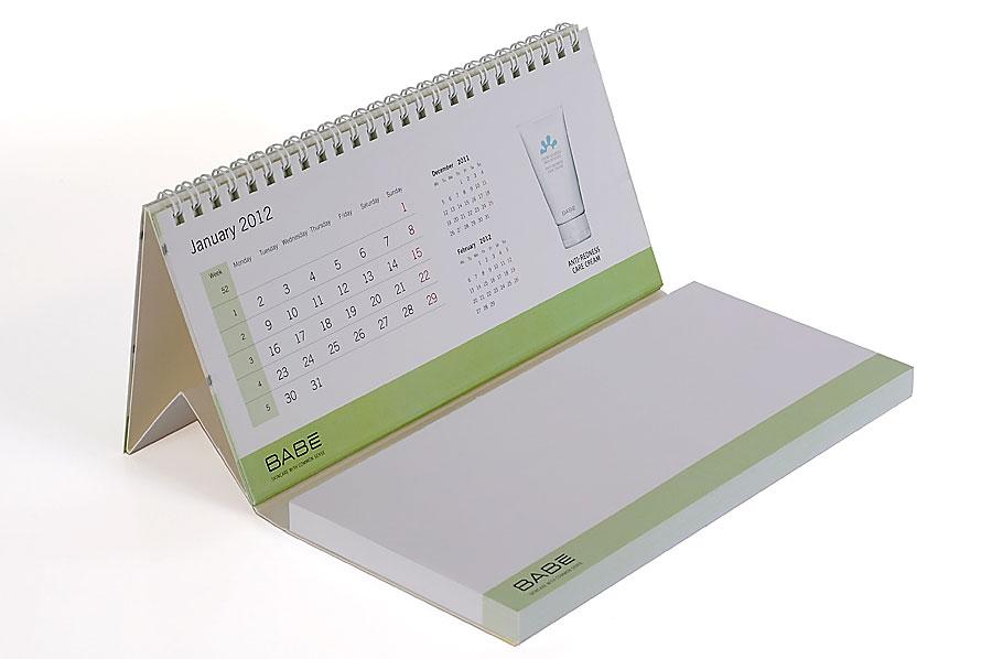 Calendarios de mesa personalizado mcd encuadernaciones - Calendario de mesa ...