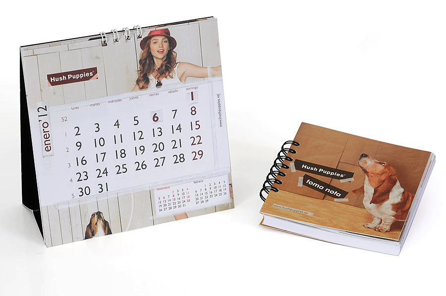 Calendarios personalizados calendarios de pared - Calendario de mesa ...