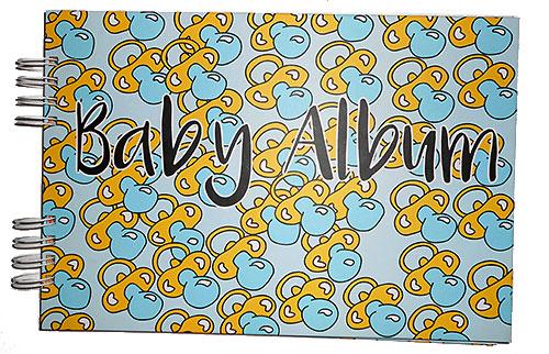 Álbum de fotografías para el bebé album baby
