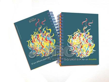 Libreta Colores Valencia - Tamaño 105 x 145