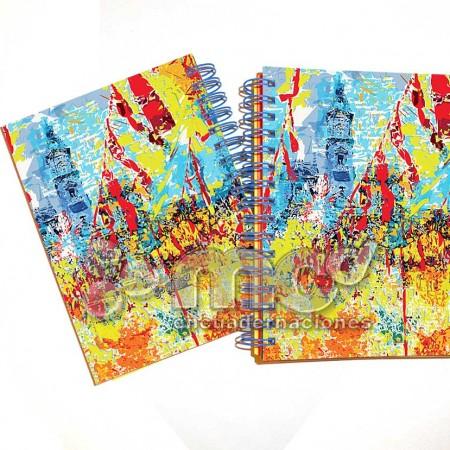 Libretas 105x145 Mascleta Fallas