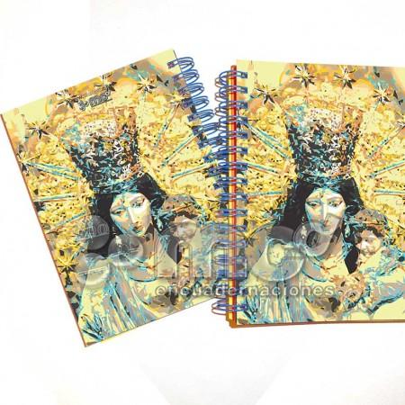 libreta mare de deu dels desemparats, mare de deu dels desemparats, libreta 105 x 145, libreta valencia,